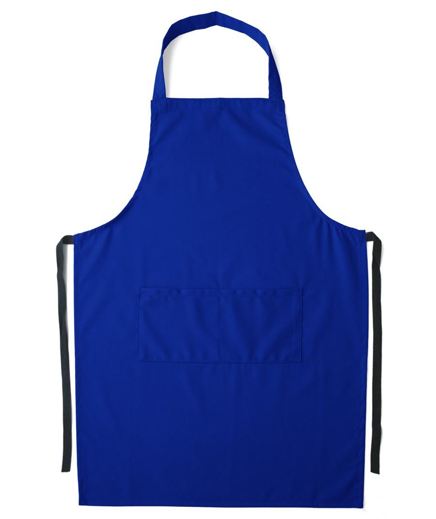 Blue apron app - Kitchen Aprons Blue Poussin Apron Fixed Halter Apron Nylon
