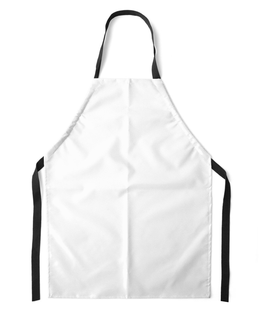 White apron delivery
