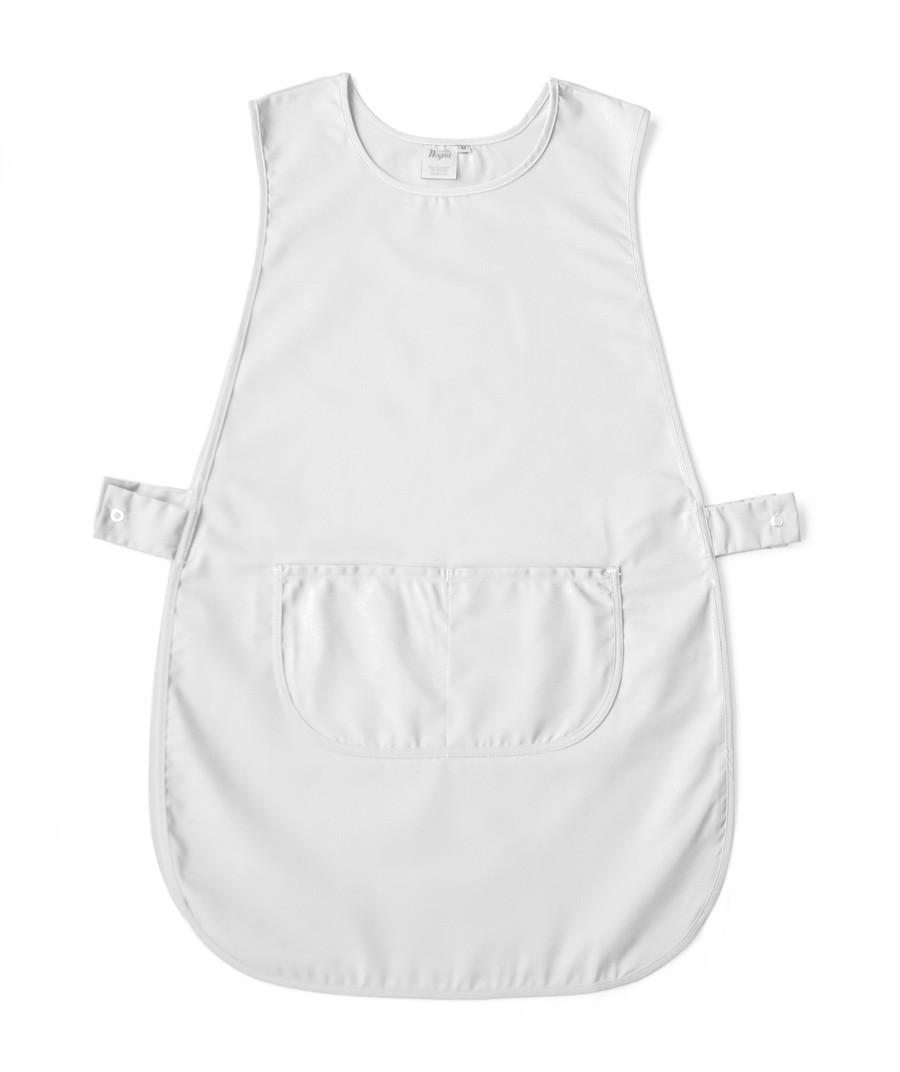 White tabard apron - Workwear Tabard